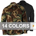 Military Basic BDU Shirt