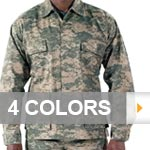 Basic Military Digital Camouflage BDU Top