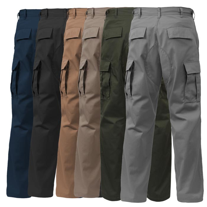 Basic Issue Military Bdu Pants Solid Colors
