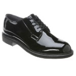 Bates Lites Black High Gloss Oxford Shoe - 942