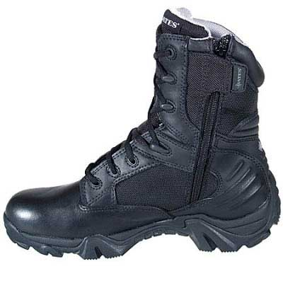 Bates Boots Gx 8 Gore Tex 8 Inch Zip Tactical Boot Side