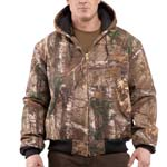 Carhartt Quilted-Flannel Lined Camo Jacket