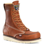 Carolina CA7002 8 Inch Brown Moc Toe Wedge Work Boots