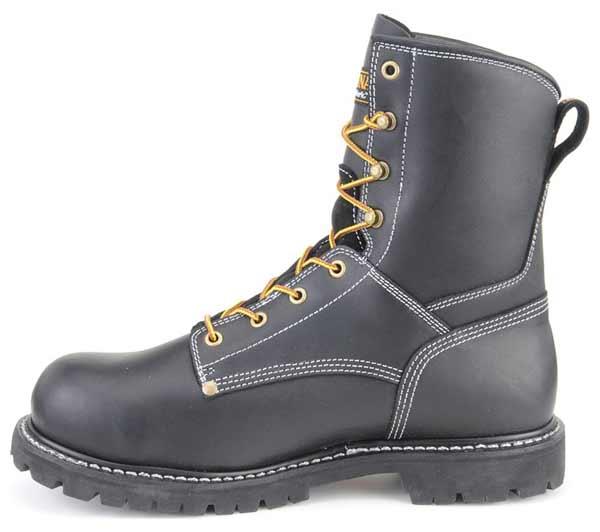 carolina s 8 inch black waterproof work boot ca8030