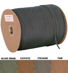Nylon 1200 Foot USA Paracord Spool - 7 Stand Type III