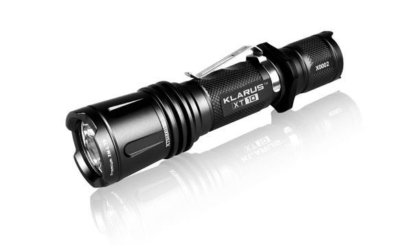 Klarus xt10 tactical led flashlight 365nm