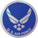 U.S. Airforce Logo Large Sticker