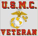 Marine Corps Veteran Decal