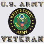Army Veteran Decal