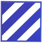 3rd Infantry Division Digital Camo Decal
