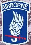 173rd Airborne Digital Camo Decal