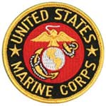 Small United States Marine Corps Emblem Patch