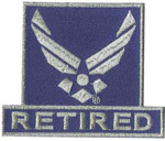 U.S. Airforce Logo Retired Patch