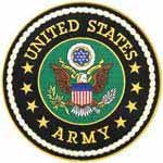 Large Circle United States Army Emblem Patch