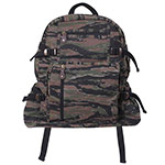Tiger Stripe Camo Vintage Canvas Backpack