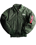 Alpha CWU 45-P Flight Jacket
