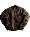 Alpha Leather MA-1 Flight Jacket
