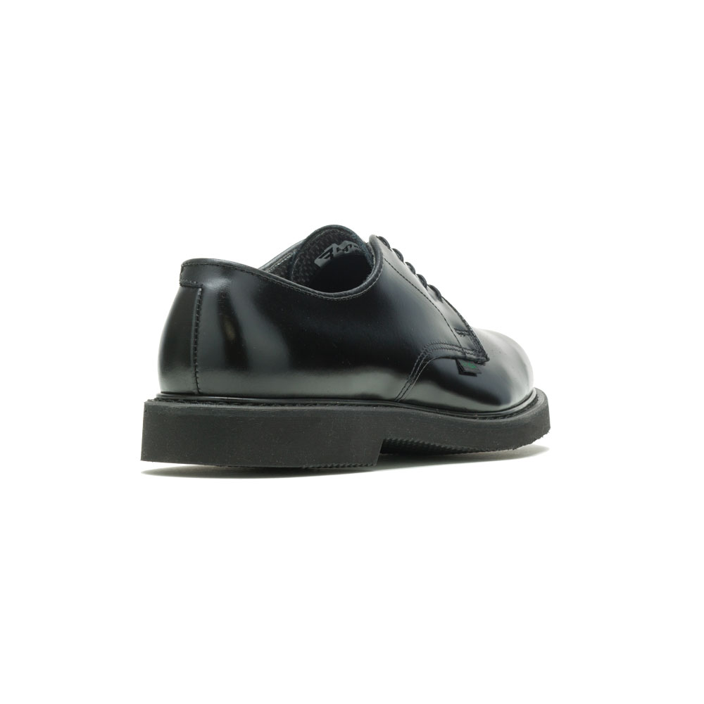 Bates E00056 Lites Black Leather Postal Worker Oxford