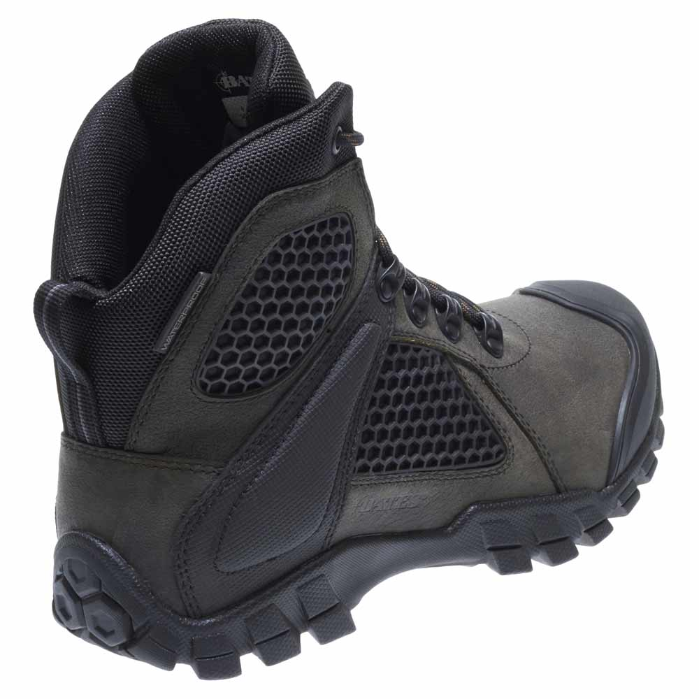 Bates Shock Fx Gray 6 Inch Waterproof Boot E07012