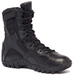 Belleville Khyber Black Side Zip Waterproof Tactical boots - TR960Z WP