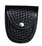 Extra Large Basketweave Leather Handcuff Case