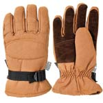 Brown Rancher Waterproof Winter Work Gloves