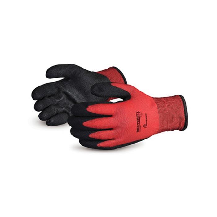 Dexterity Lined PVC Palm Winter Gloves