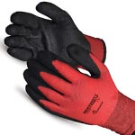 Dexterity Lined Winter Gloves with PVC Palm