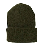 Military Issue Olive Drab Wool Watch Cap