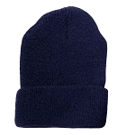 Military Issue Dark Navy Wool Watch Cap