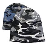 Broner Blue or White Camouflage Beanie Winter Cap