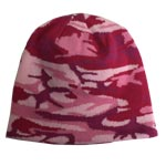 Broner Pink Camo Winter Hat
