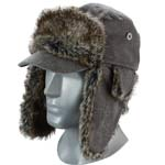 Broner Grey Winter Trooper Hat