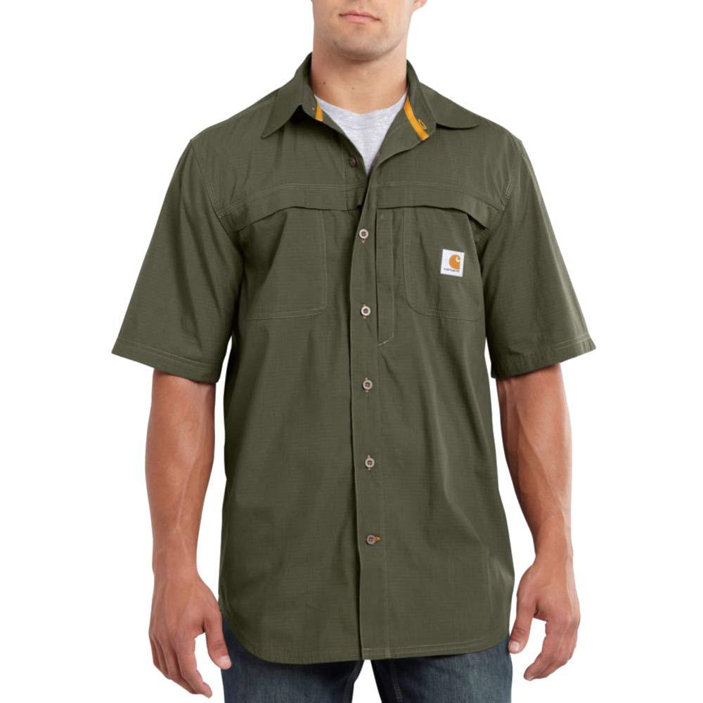 carhartt 101178 mandan short sleeve work shirt