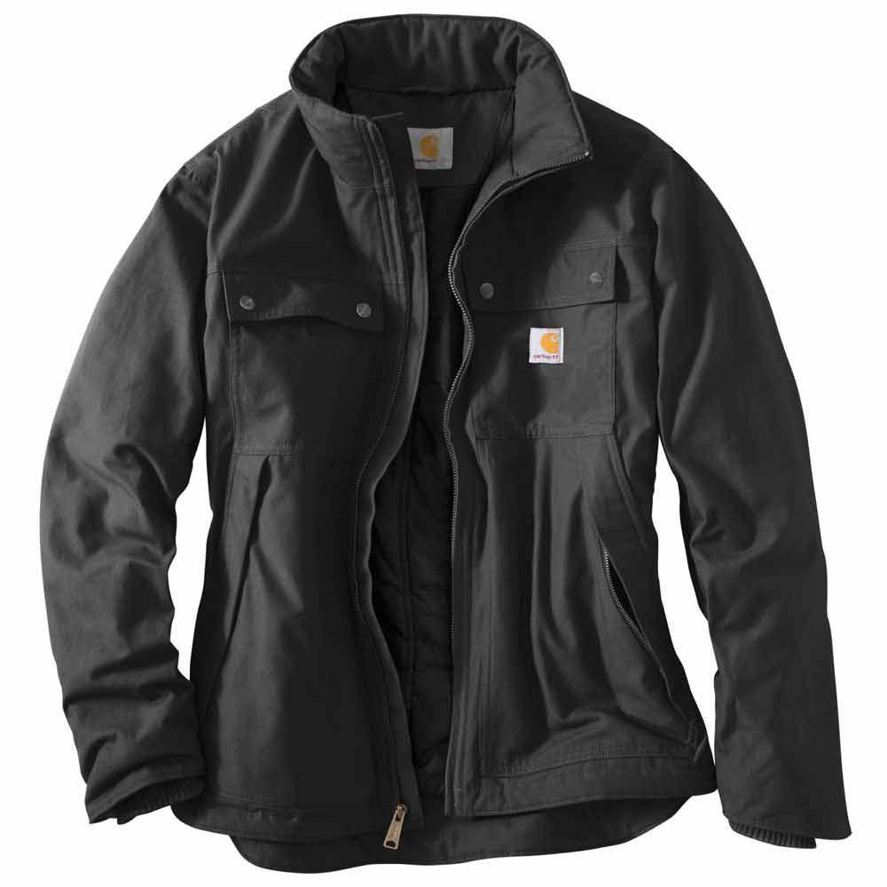 Carhartt Light Work Jacket: Carhartt 101492 Quick Duck Jefferson Traditional Work Jacket