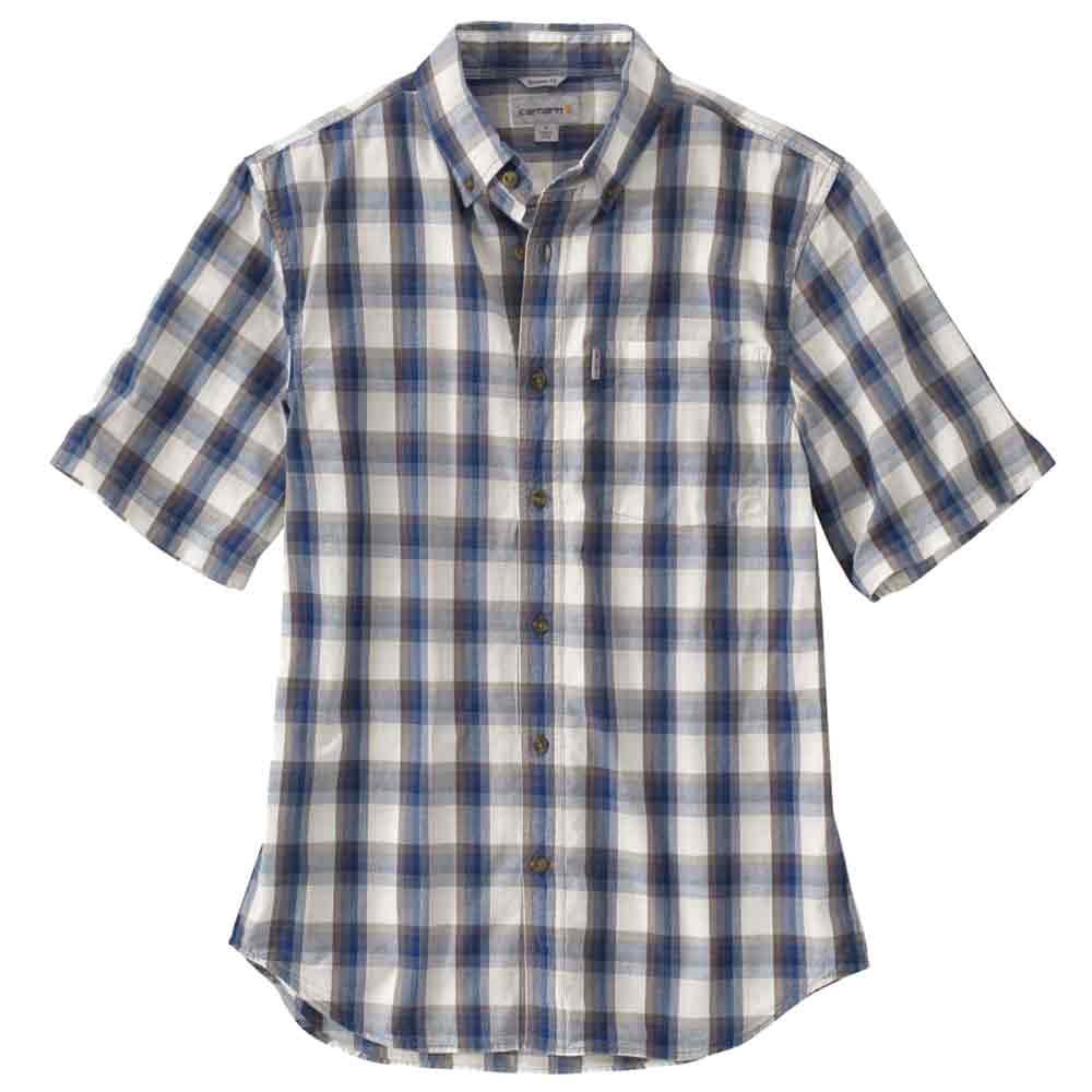 Carhartt Essential Plaid Button Down Collar Poplin Shirt