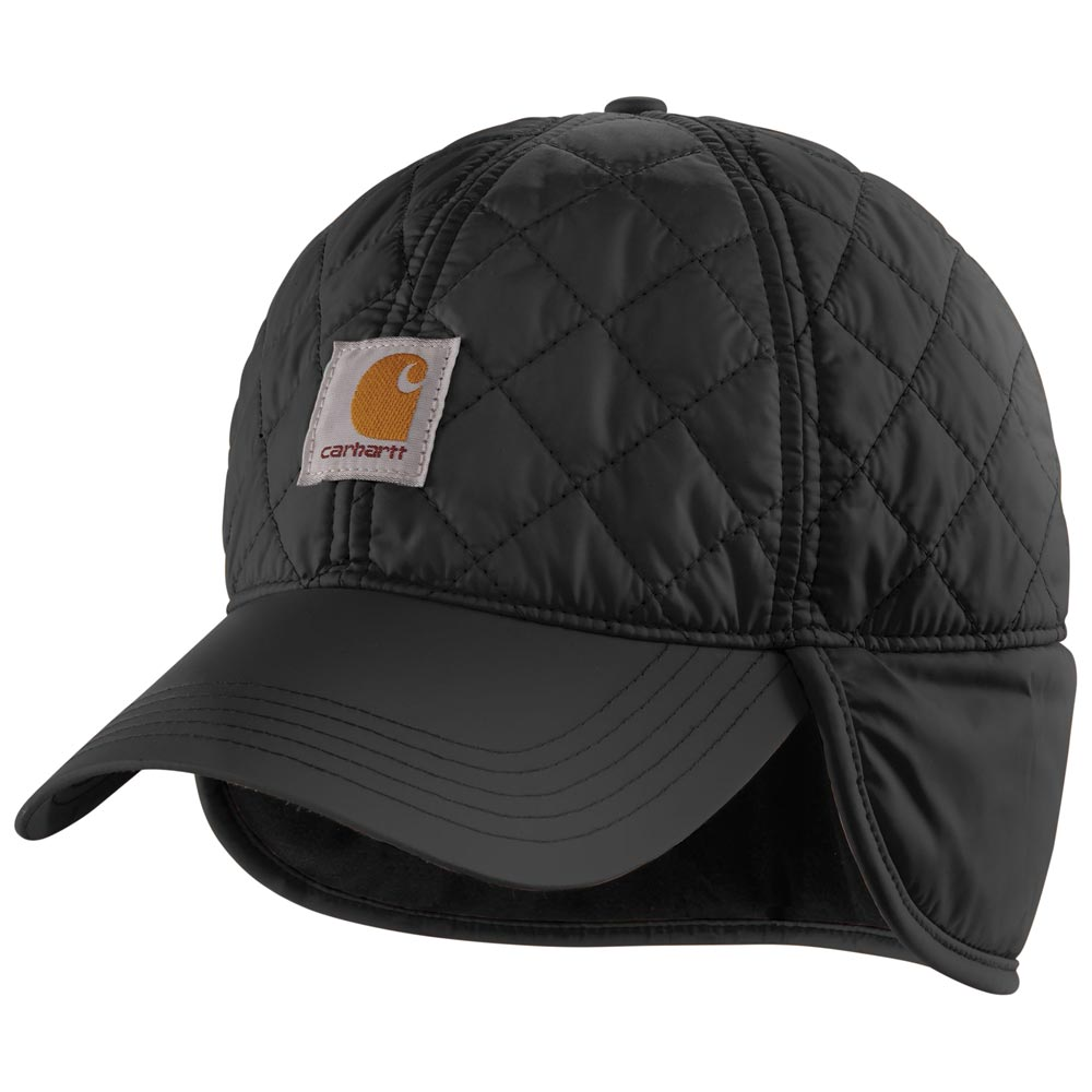 carhartt gilliam quilted hat with ear flaps
