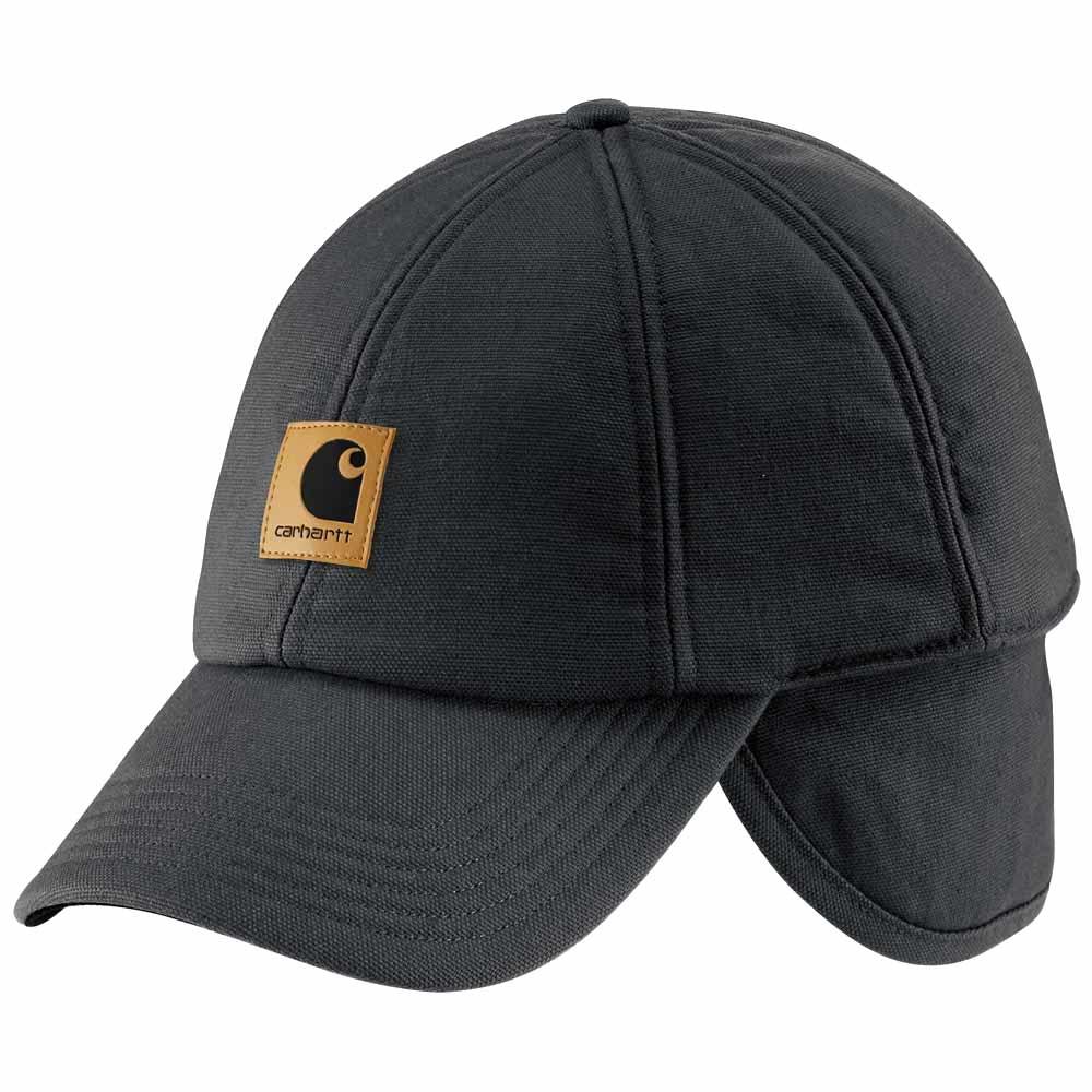 carhartt baseball cap with ear flaps