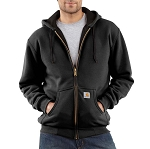 Carhartt Men's Thermal-Lined Hooded Zip-Front Sweatshirt