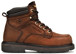Carolina 1399: 6-inch Steel Toe Broad Toe Work Boot - Crazy Horse