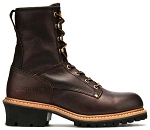 Carolina 1821: 8-inch Steel Toe Logger Boots - Briar Pitstop
