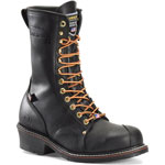 Carolina 905: Black 10-inch Linesman Boot - Made in the USA