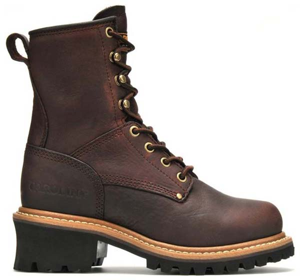 Carolina Ca421 Womens Logger Boot Dark Brown Women S