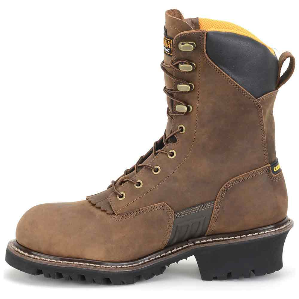 Carolina Max Wp Insulated Steel Toe Logger Boot Ca6580