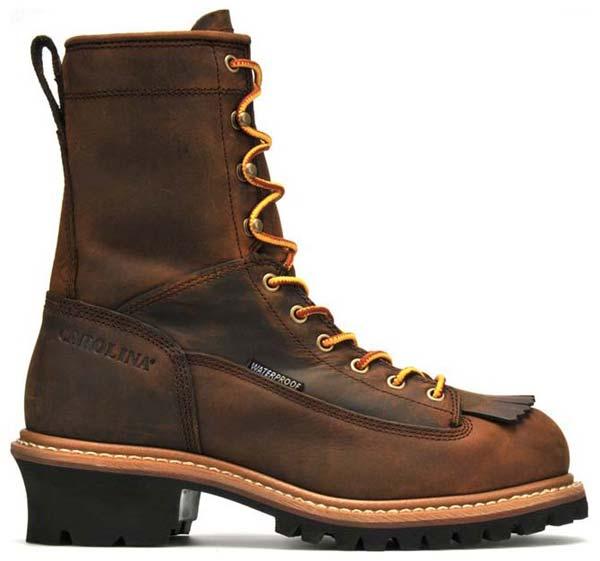 Carolina Ca9824 Waterproof Lace To Toe Logger Boot Men S