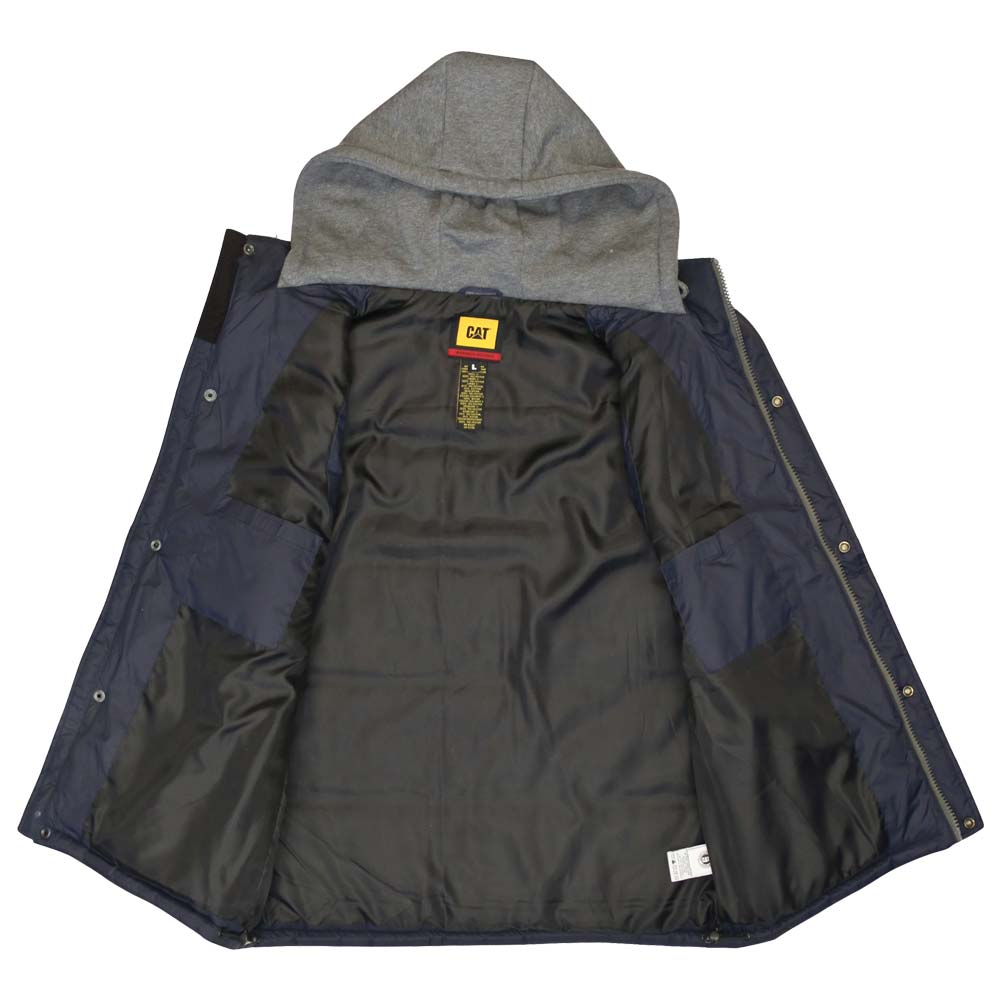 Caterpillar Hooded Insulated Work Vest