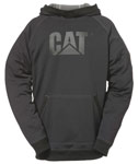 Caterpillar Shield Fleece Black Pullover Hoodie