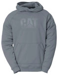 Caterpillar Shield Fleece Grey Pullover Hoodie
