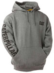 Caterpillar Trademark Banner Dark Grey Hoodie