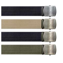 Military Fashion Belts
